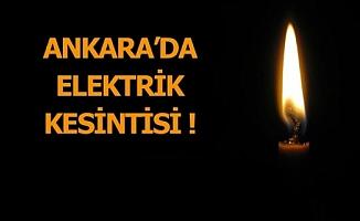 Birçok ilçede elektrik kesintisi! (23/08/2017)