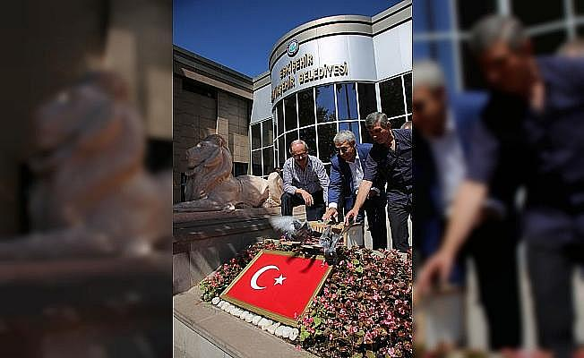 İstanbul'dan Eskişehir'e posta güverciniyle mesaj geldi