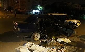 Hırsızlar Polisten Kaçarken Kaza Geçirdi: 4 Yaralı