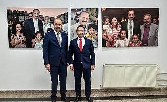 Ali Mantı'dan Akgül'e sürpriz ziyaret