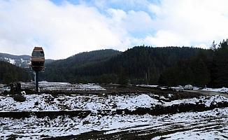 Kayak merkezinde karsız yılbaşı
