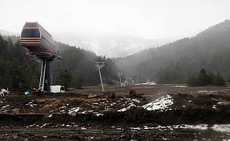 Yıldıztepe kayak sezonunu açamadı