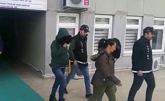 Ankara'da Evlere Giren Kadın Hırsızlar Yakalandı!