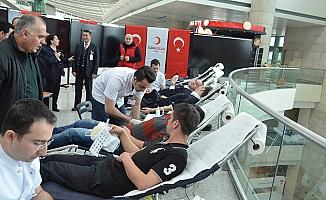 Esenboğa Havalimanı'nda Kan Bağışı Kampanyası