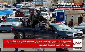 Reuters: Rejim güçleri Afrin'de