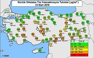 Ankara'da Araçların Üzeri Çamurla Kaplandı!