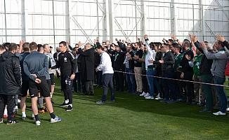 Atiker Konyaspor'da Kayserispor maçı hazırlıkları başladı