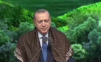 """Erdoğan:  """"23 milyon haneye PTT aracılığıyla göndereceğiz"""""""