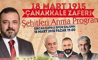 Sincan Belediyesinden Çanakkale Zaferi programı