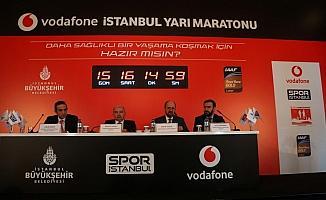 Vodafone 13. İstanbul Yarı Maratonu'na doğru