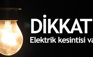 Elektrik Kesintisi (19/04/2018)