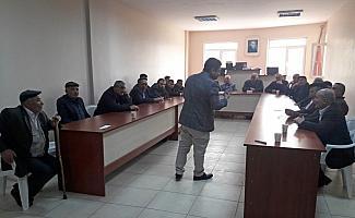 Hafik'te YHT projesi kamulaştırma bilgilendirme toplantısı