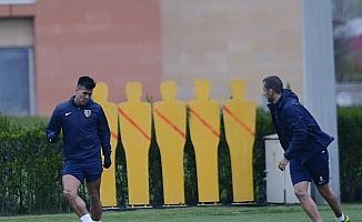 Kayserispor, Gençlerbirliği maçının hazırlıklarına başladı