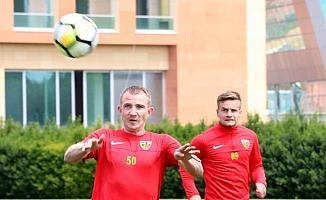 Kayserispor'da Aytemiz Alanyaspor maçı hazırlıkları