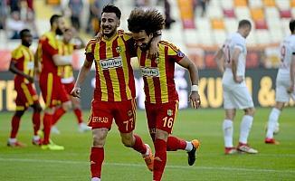 5 gollü maçın galibi Evkur Yeni Malatyaspor