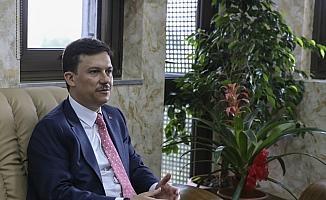 AK Partili Şahin'den Şoförler Odası'na ziyaret