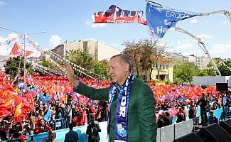 AK Parti'nin Erzurum mitingi