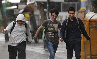 Ankara'ya Sağanak Uyarısı!