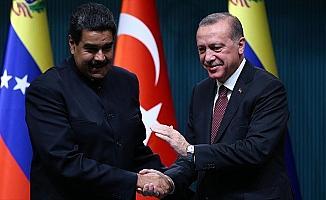 Cumhurbaşkanı Erdoğan Maduro'yu tebrik etti