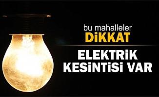 Elektrik Kesintisi (22/05/2018)