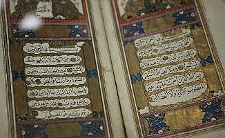 İpekten Kur'an-ı Kerim 2 yılda tamamlandı