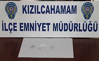 Kızılcahamam'da uyuşturucu operasyonu