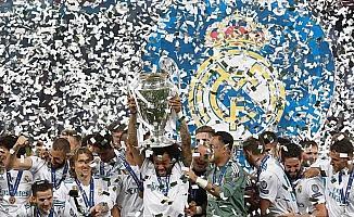 Real Madrid kupasını aldı