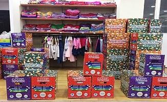 Tebessüm Çarşısı'ndan bin 150 aileye gıda yardımı