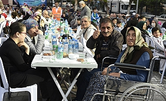 60 bin kişi Mamak'ta İftar Açtı