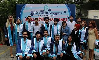 AYBÜ Konservatuvarında mezuniyet sevinci