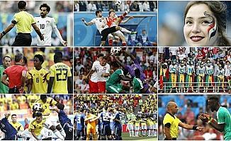 Dünya Kupası'nda 6. gün maçları oynandı