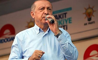 Erdoğan: Zırhlı taşıyıcılarımız Münbiç'e girdi