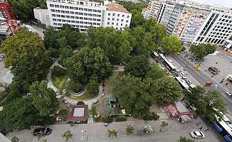 Kızılay'daki Zafer Parkı Bakanlığa Tahsis Edildi