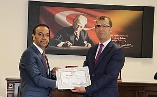 MHP Sivas Milletvekili Özyürek, mazbatasını aldı