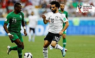 Salah'lı Mısır Dünya Kupası'nı puansız kapattı