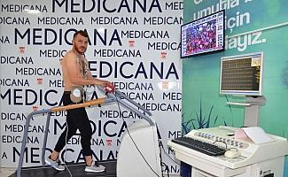Sivassporlu Ziya Erdal, sağlık kontrolünden geçti