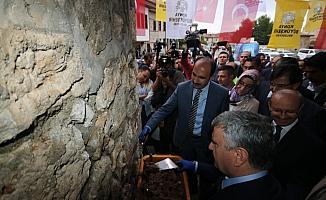 Tarihi Eşrefoğlu Bedesteni'nde restorasyon çalışmaları başladı