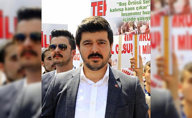 AK Parti Ankara İl Gençlik Kolları üyelerinden açıklama