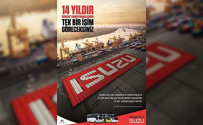 Anadolu Isuzu'dan 6 ayda 376 araç ihracı