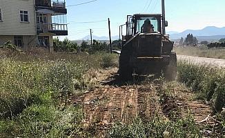 Beyşehir Belediyesinden boş arazilerde yangın önlemi