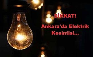 Elektrik Kesintisi (20/07/2018)