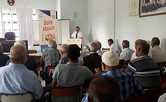 Karakeçili'de imar barışı bilgilendirme toplantısı