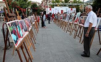 Seydişehir'de 15 Temmuz fotoğraf sergisi açılışı