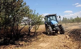 Seydişehir'de buğday tarlası yandı