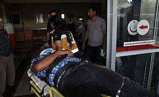 Sivas'ta trafik kazası: 17 yaralı