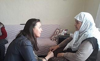 AK Parti İl Kadın Kolları Başkanı Yalçın seçim çalışmalarına başladı