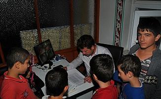 Akşehir'de camiler çocuk sesleriyle şenleniyor