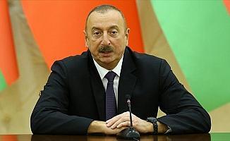 Aliyev'den Cumhurbaşkanı Erdoğan'a kutlama