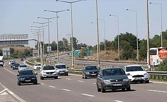 Anadolu Otoyolu'nda bayram yoğunluğu yaşanıyor