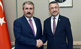 Cumhurbaşkanı Yardımcısı Oktay ile Destici görüştü